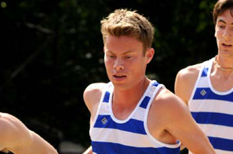Men's cross country places 27th at Open New Englands