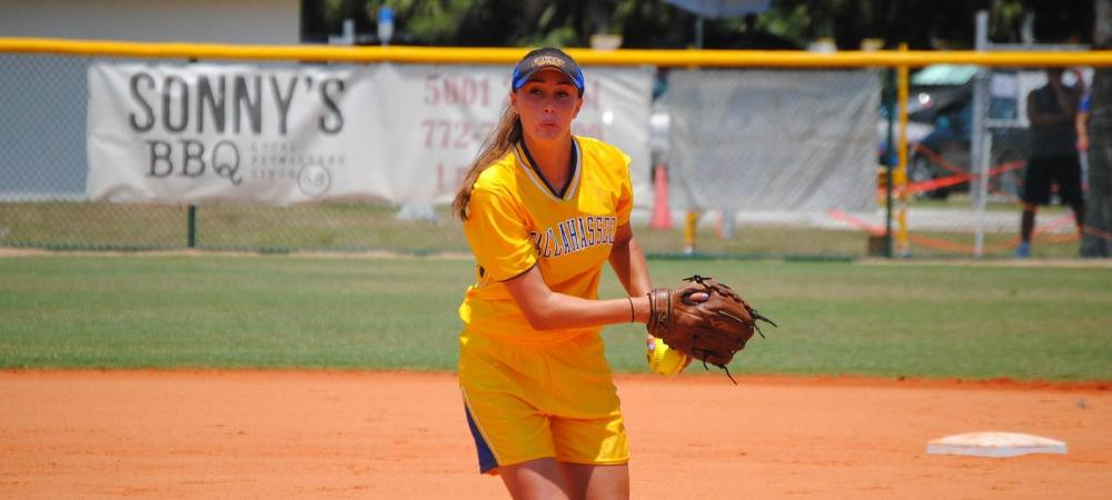 #TCCSoftball eliminated on day one in Vero Beach