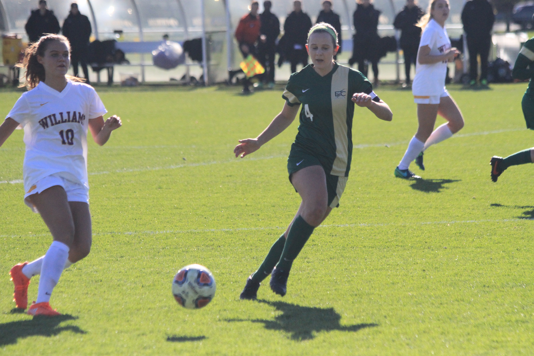 Second Half Pushes Williams Past Women's Soccer In NCAA Regional