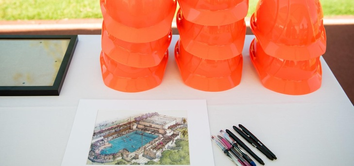 Oxy S&D Announces 23 Newcomers, Starts Construction on Pool