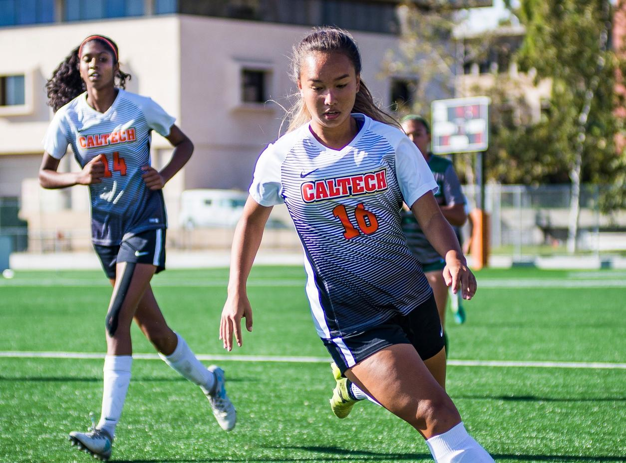 Women's Soccer Wins First Game Ever