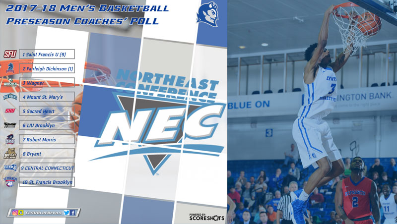 Northeast Conference Announces 2017-18 Men's Basketball Preseason Poll