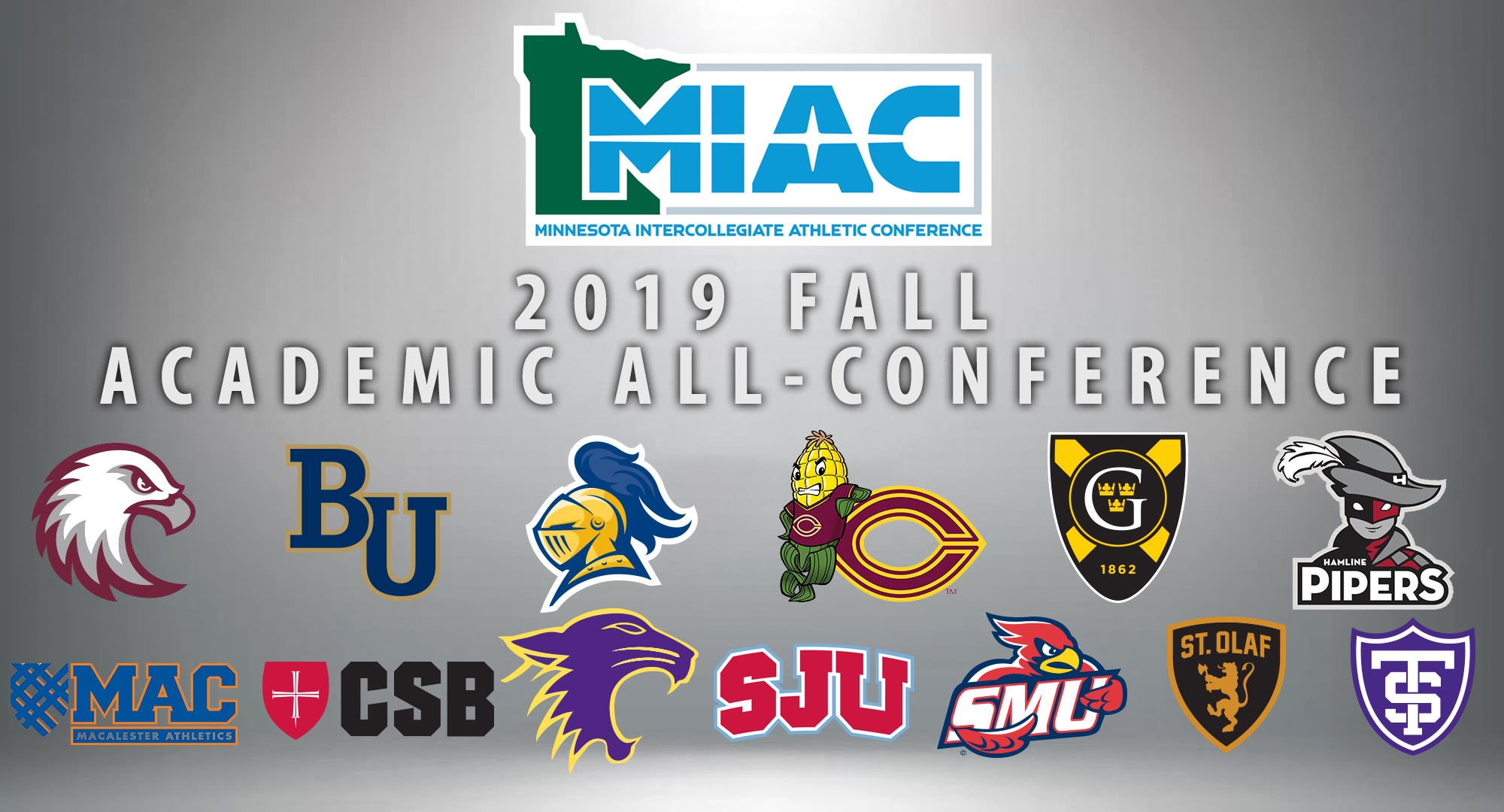 Concordia had 39 fall sports student/athletes earn MIAC Academic All-Conference honors.