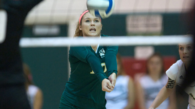 VOLLEYBALL LOSES ROAD MATCH AT FIRST-PLACE IDAHO STATE