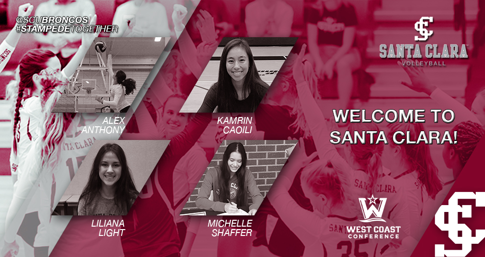 Meet the Future of Santa Clara Volleyball: Class of 2022