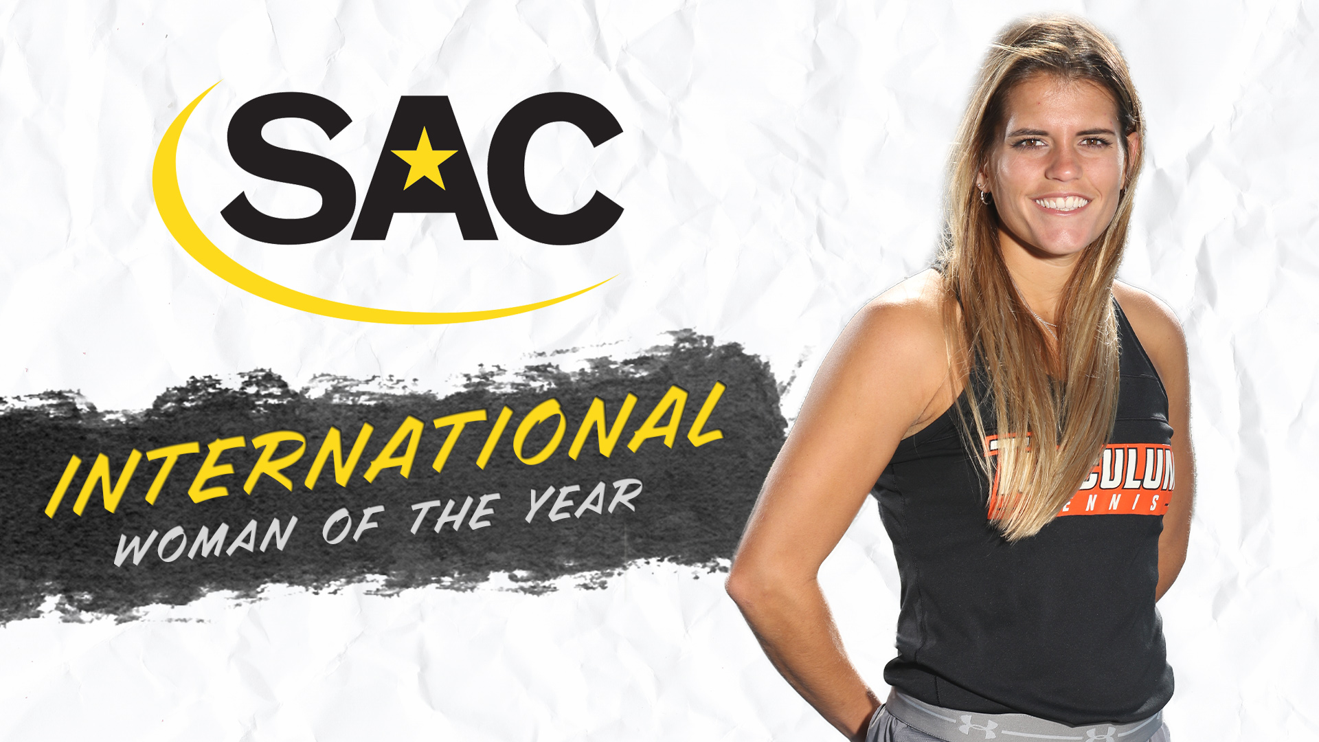 McCullough tabbed SAC International Woman of the Year