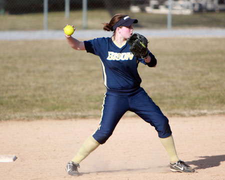 Bison swept by Stevenson