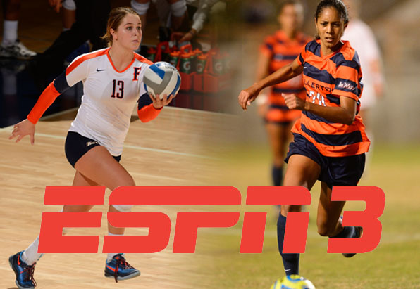 Women's Soccer and Volleyball ESPN3 Schedule Released