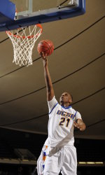 Gauchos Can't Overcome Big Deficit, Fall at Portland, 75-63