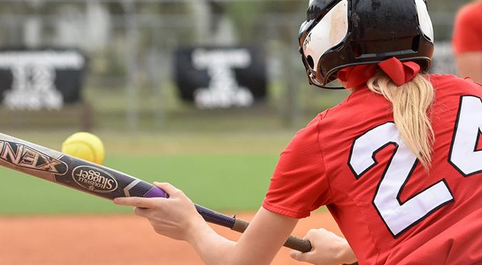 High-school seniors are invited to take part in Polk State's Softball Prospect Camp. (Photo by Tom Hagerty, Polk State).