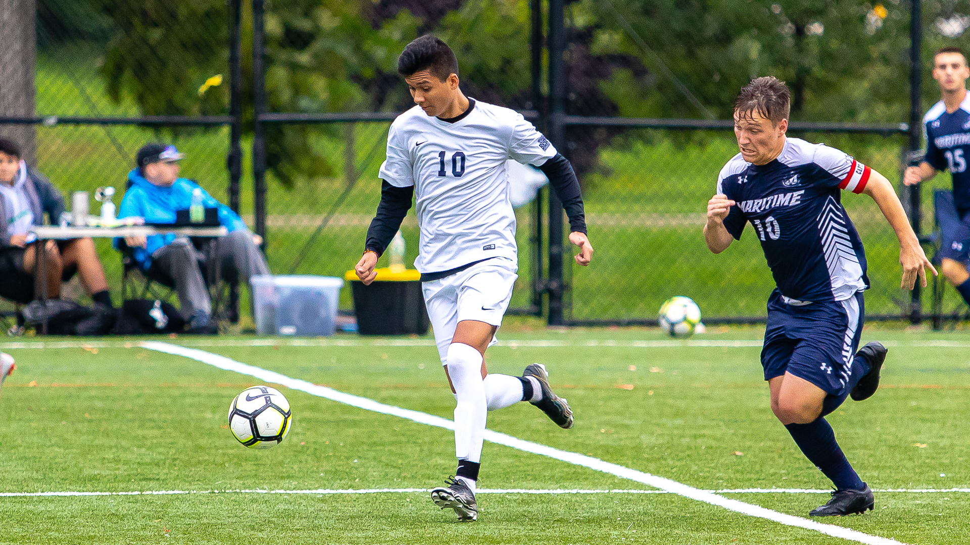 Garcia Sets Single-Game Goals and Points Records as Men's Soccer Runs Past Pratt