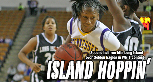 Long Island holds off Tech in Eblen Center WNIT tilt