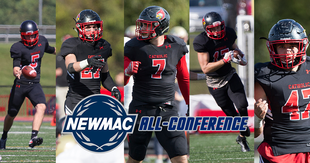 Five Cardinals Honored in NEWMAC Year-End Awards