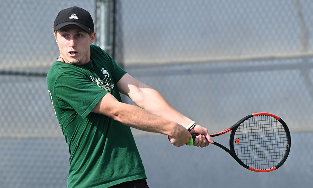 MEN'S TENNIS CONCLUDES TRIP TO PHOENIX WITH LOSS AT GRAND CANYON