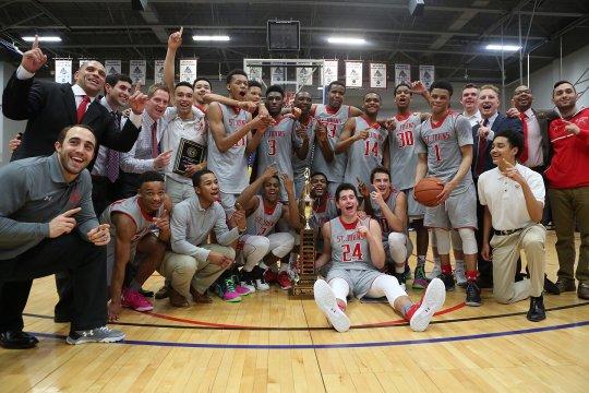 2015-16 Boy's Basketball Champions St. John's