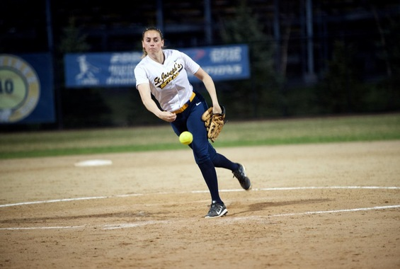 Softball Blanks Sage at Skyline Conference Championship