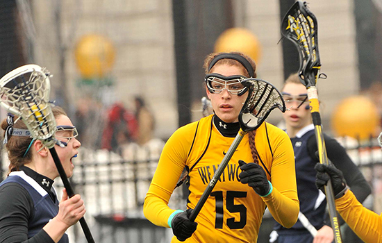 Record Setting Night Helps Women's Lacrosse to Second Straight Win