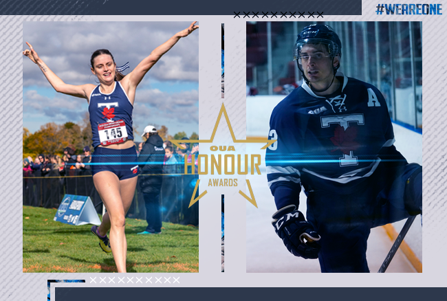 Varsity Blues Stafford, Thomson headline 2019-20 Honour Awards with Athlete of the Year nods