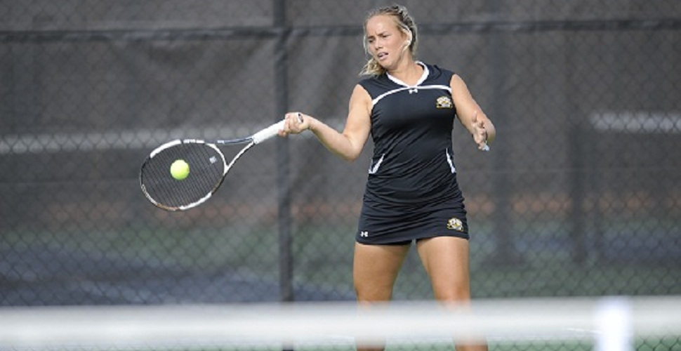 "Danielsson Shines on ""Senior Day"", Leads Women's Tennis to 5-2 Victory Over League Foe Binghamton"