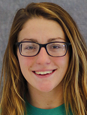 Justine Wantz, York, Women's Swimming, Sophomore
