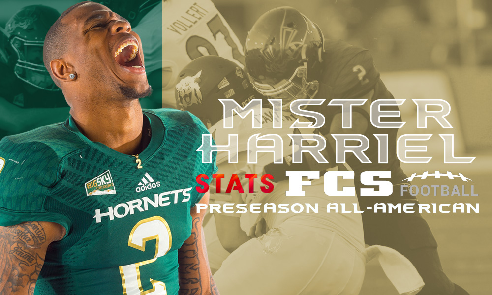 HARRIEL ADDS STATS PRESEASON ALL-AMERICA TO HIS GROWING LIST OF HONORS