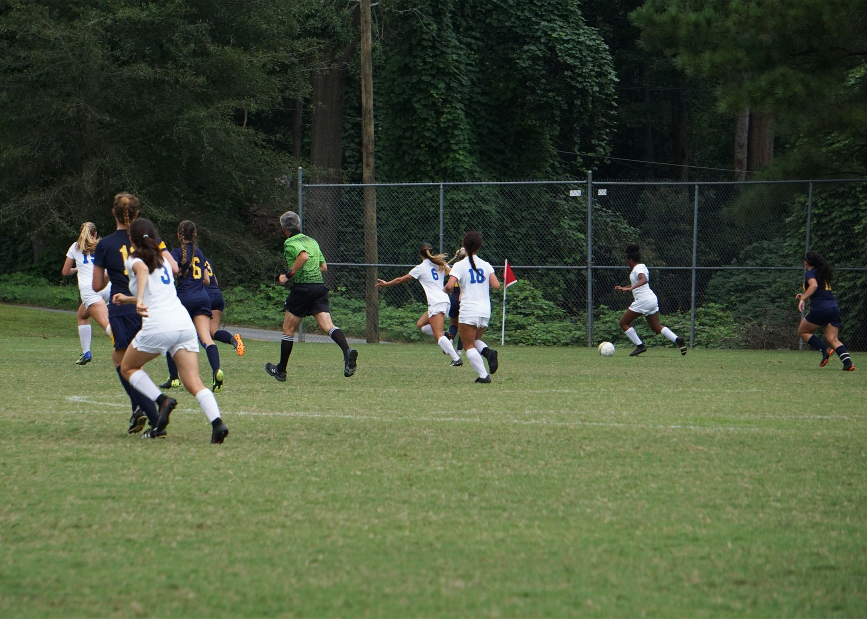 Women's Soccer Wins 11-0 Against Patrick Henry CC