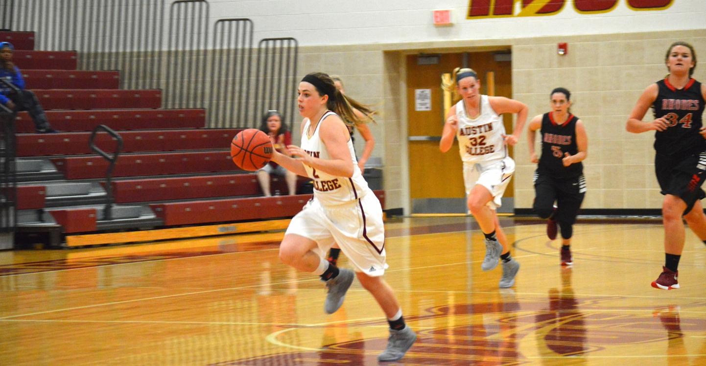 Women's Hoops Tops Southwestern 63-48