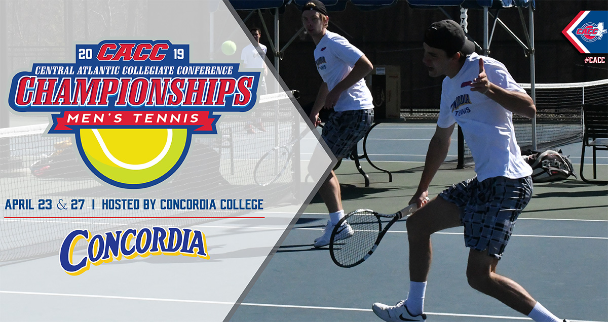 Concordia College to Host 2019 CACC Men's Tennis Championship Final