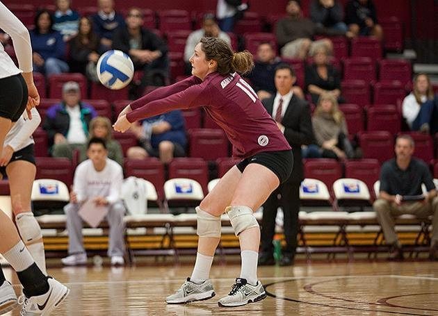 Volleyball Finishes Season With Loss to Saint Mary's on Senior Day; Schmidt Interviewing for Rhodes Scholarship