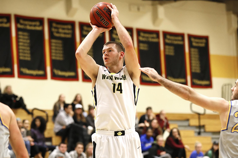 Men's Basketball Holds Off Western New England for Second Straight Win