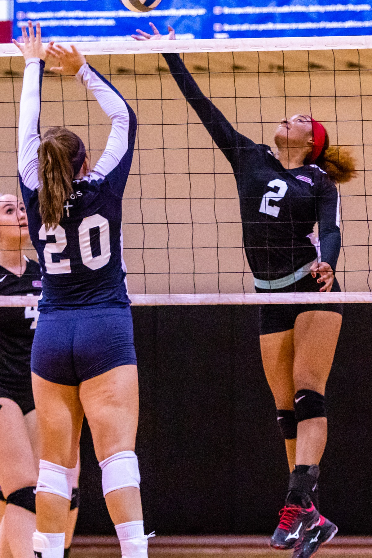 WOMEN'S VOLLEYBALL SWEPT BY BLOOMFIELD