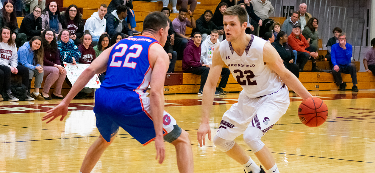 No. 23 Men's Basketball Outlasts Coast Guard, 105-99, As Ross Totals 55 Points and 21 Rebounds