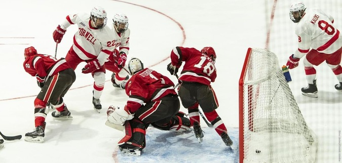 Cornell tops St. Lawrence, secures Ivy League Title