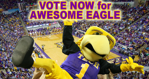 VOTE TODAY: Awesome Eagle in tight race in OVC Mascot Challenge