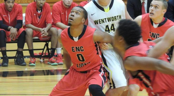 Men's Basketball Bests Wentworth, Escapes with 10th Win