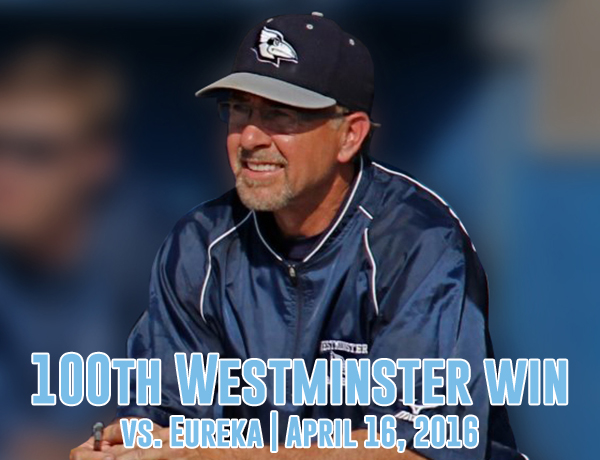 Coach Hughes Records 100th Win in DH Sweep over Eureka