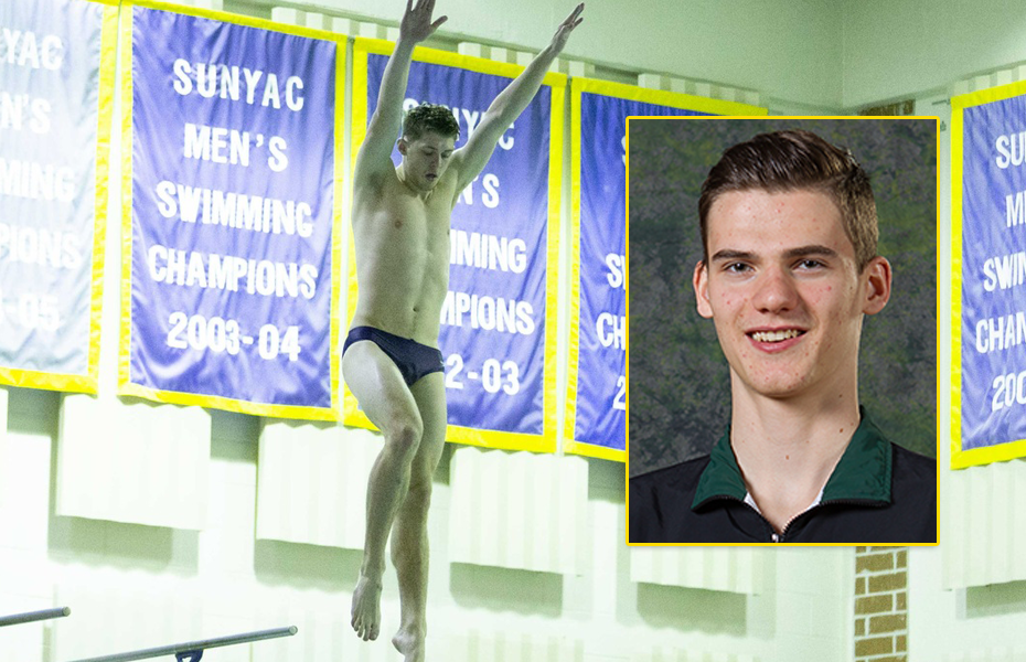 Davie, Wirth picked as Men's Swimming & Diving Athletes of the Week