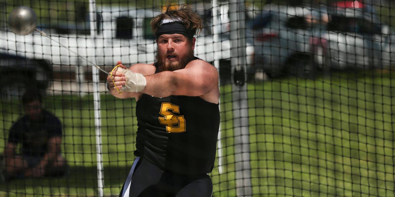 Tyler Adams, Southwestern University, Men's Field Athlete of the Week (Week 6)