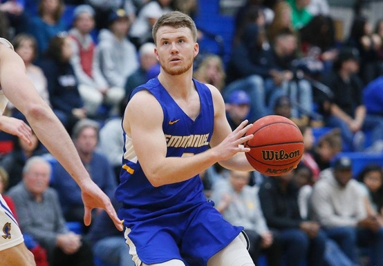 HIGH-POWERED OFFENSE LIFTS EMERSON OVER MEN'S HOOPS