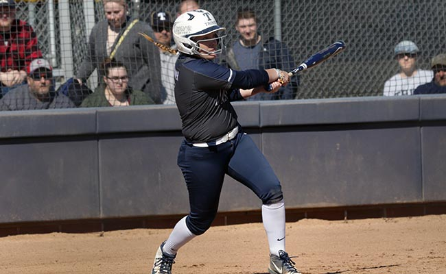 Daugherty's Homer Enough for Trine's First Win in NCAA Division III Softball Championship