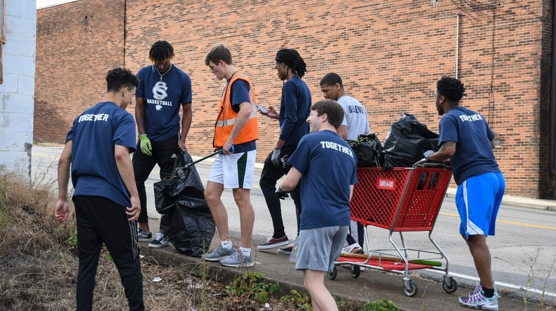 Athletics Pairs With Keep America Beautiful For Service Day