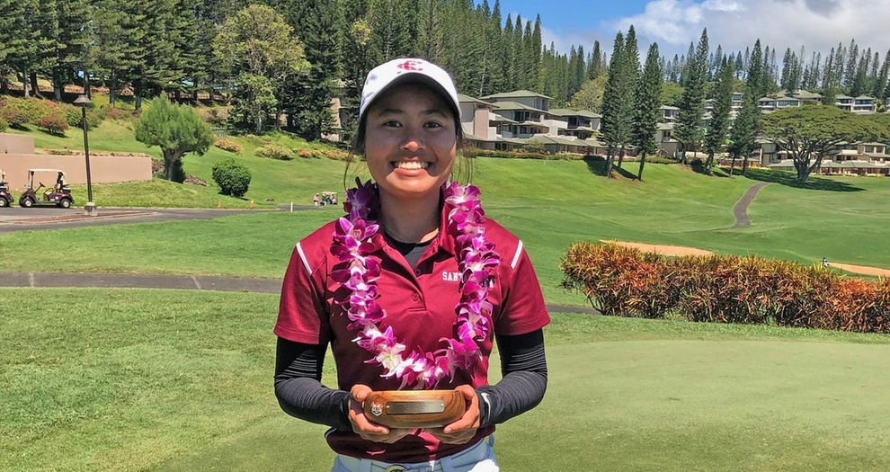 Le Ties For Third; Women's Golf Finishes Ninth At Anuenue Spring Break Classic