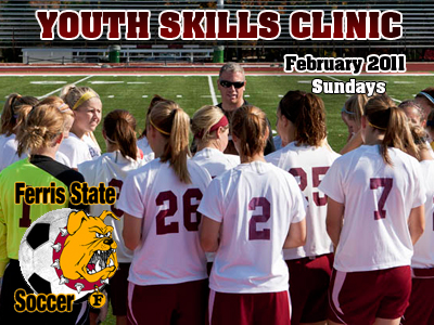 Ferris State Women's Soccer To Hold Youth Skills Clinic This February