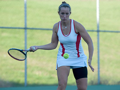 Women's Tennis Wins Two Weekend Matches