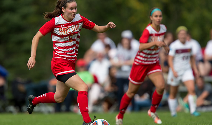 Ferris State Women's Soccer Pushes Unbeaten Streak To Nine-Straight With Road Win