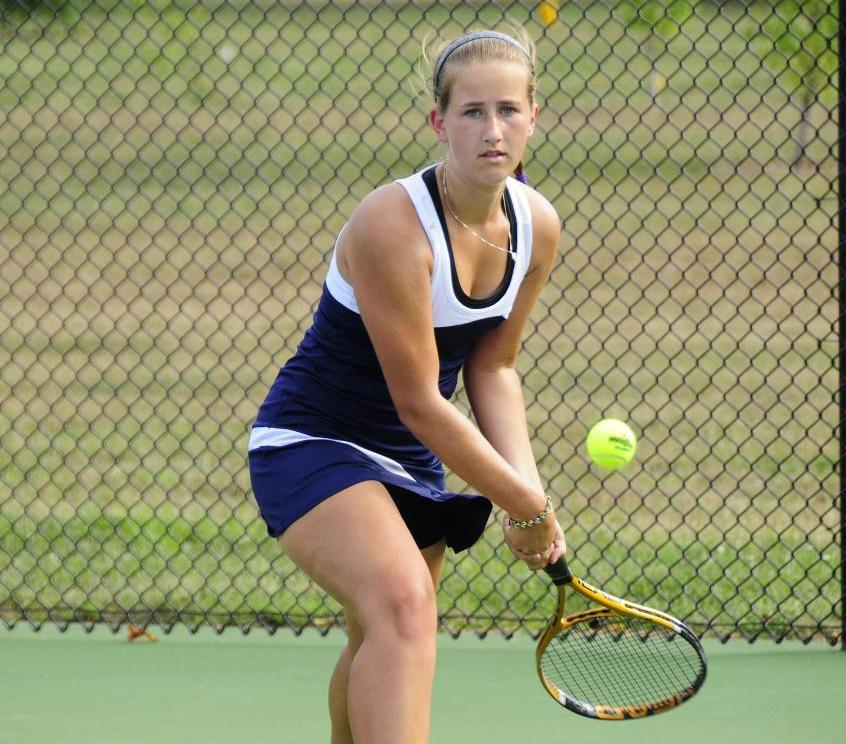 Womens tennis match
