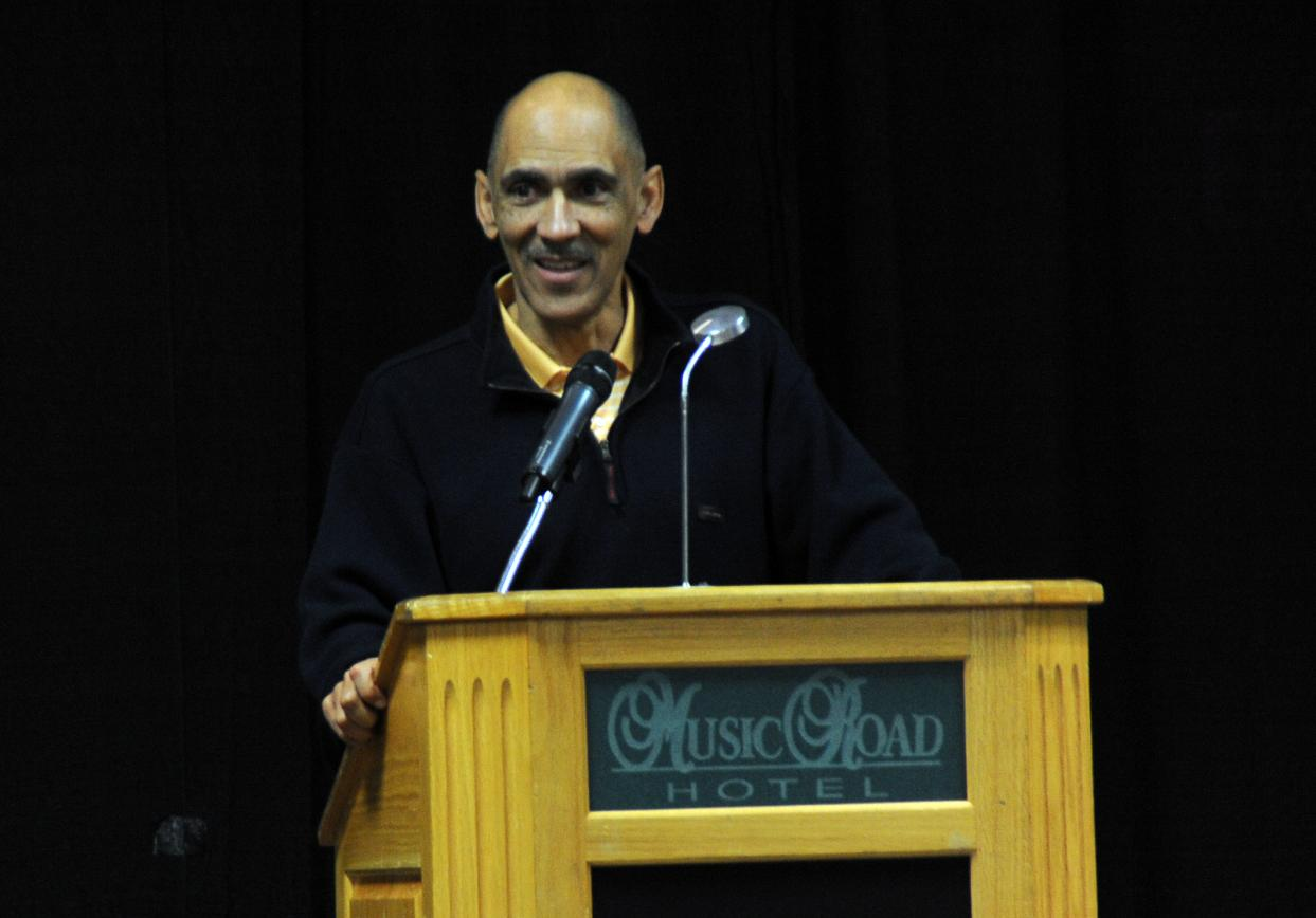 Dungy and Gailey Address C-N Coaching Clinic