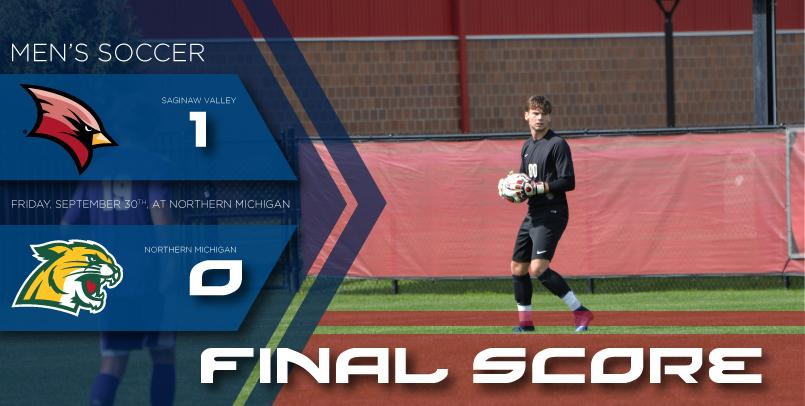 Connor Keane stopped a career-high six shots on goal in the victory...