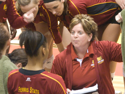 Theresa Beeckman will be one of the featured speakers at the 2010 Premier Volleyball Academy's Coaching Symposium. (Photo by Joe Gorby)