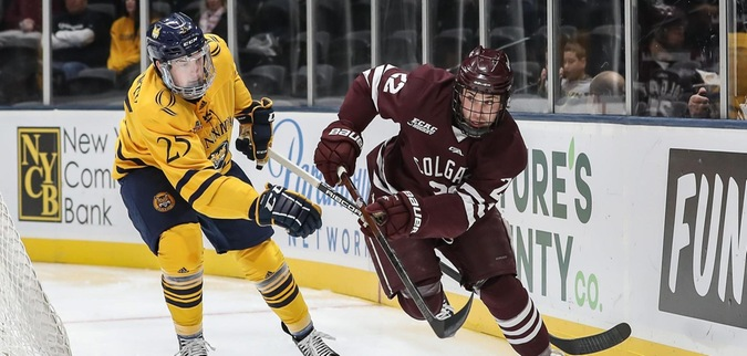 Colgate routed by No. 4/5 Quinnipiac